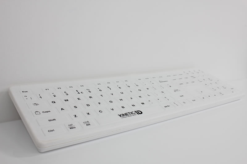 Kinetic Touch S1 Silicone Keyboard and Mouse Set